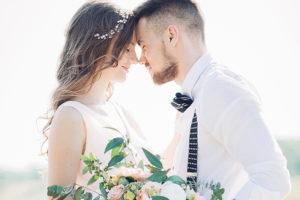 Brautstyling für Paare